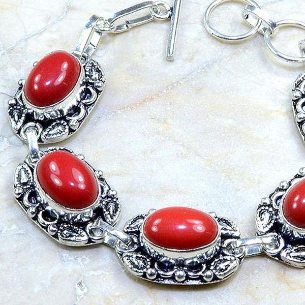 Crf 123b bracelet corail achat vente bijou monture argent 925