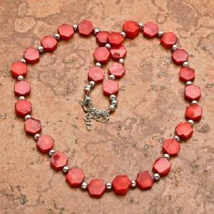 Crl 103a collier 24gr sautoir parure corail rouge achat vente bijoux ethniques