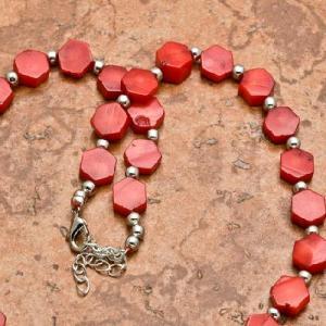 Crl 103b collier 24gr sautoir parure corail rouge achat vente bijoux ethniques