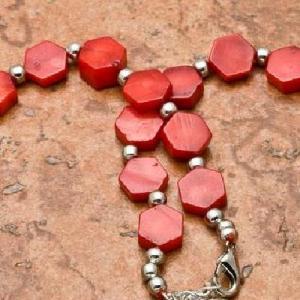 Crl 103c collier 24gr sautoir parure corail rouge achat vente bijoux ethniques