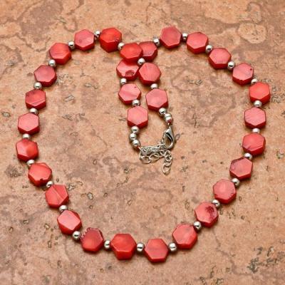 Crl 104d collier 34gr sautoir parure corail rouge achat vente bijoux ethniques
