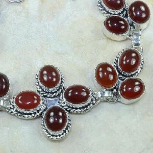 Crn 100c bracelet cornaline carnelian achat vente bijoux argent 925
