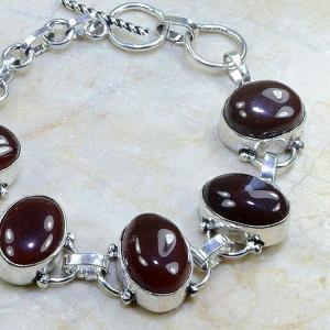 Crn 101c bracelet cornaline carnelian achat vente bijoux argent 925