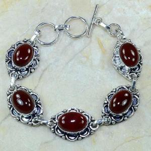 Crn 103a bracelet carnelian cornaline achat vente bijoux argent 925