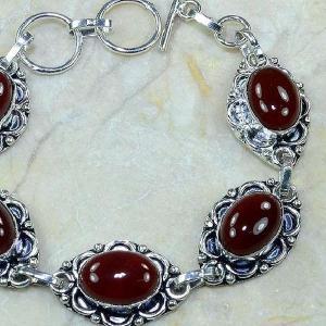 Crn 103c bracelet carnelian cornaline achat vente bijoux argent 925
