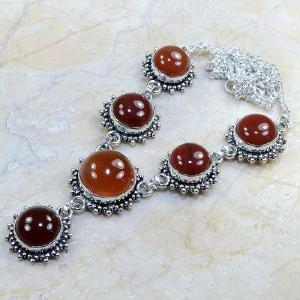 Crn 118d collier parure carnelian sautoir cornaline achat vente bijoux argent 925