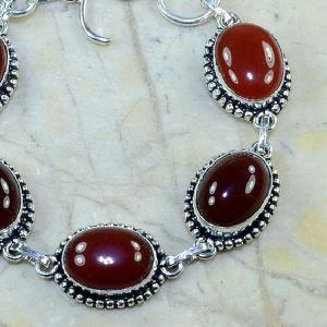 Crn 120b bracelet carnelian cornaline achat vente bijoux argent 925