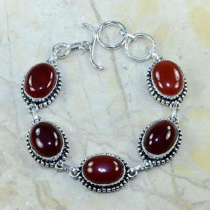 Crn 120d bracelet carnelian cornaline achat vente bijoux argent 925