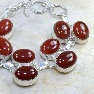 Crn 121b bracelet cornaline carnelian achat vente bijoux argent 925