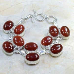 Crn 121d bracelet cornaline carnelian achat vente bijoux argent 925
