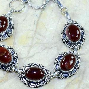 Crn 126c bracelet cornaline carnelian achat vente bijoux argent 925