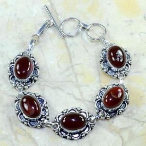 Crn 126d bracelet cornaline carnelian achat vente bijoux argent 925