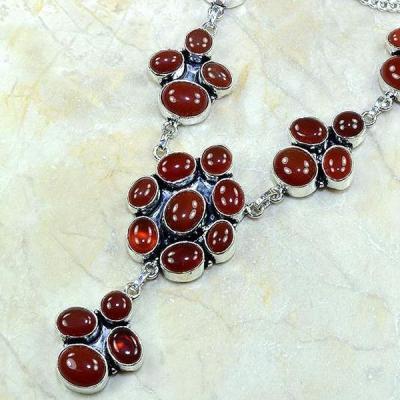 Crn 127b collier parure sautoir cornaline carnelian achat vente bijoux argent 925