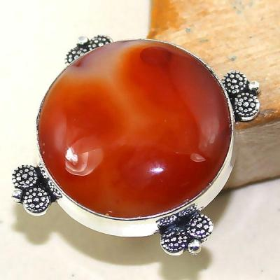 Crn 147a bague medievale t57 cornaline carnelian achat vente bijou pierre taillee lithitherapie