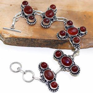 Crn 152d bracelet croix medieval cornaline carnelian achat vente bijoux argent 925