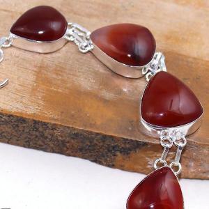 Crn 153b bracelet medieval cornaline carnelian achat vente bijoux argent 925
