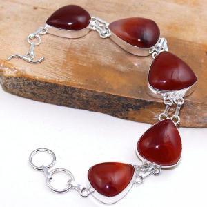 Crn 153d bracelet medieval cornaline carnelian achat vente bijoux argent 925