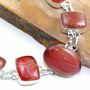 Crn 154b bracelet medieval cornaline carnelian achat vente bijoux argent 925