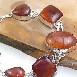 Crn 169b bracelet cornaline carnelian achat vente bijoux argent 925