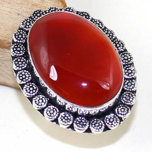Crn 173b bague medievale t55 cornaline carnelian achat vente bijou pierre taillee lithitherapie