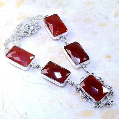 Crn 189a collier parure sautoir cornaline carnelian achat vente bijoux zthnique argent 925