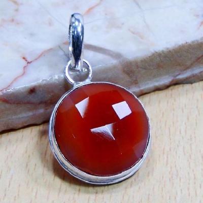 Crn 203a pendentif pendant cornaline medieval antique achat vente bijou argent 925