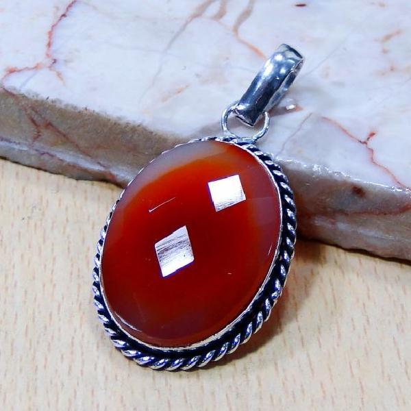 Crn 204b pendentif pendant cornaline medieval achat vente bijou argent 925