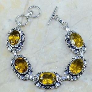 Ct 0017a bracelet citrine argent 925 achat vente