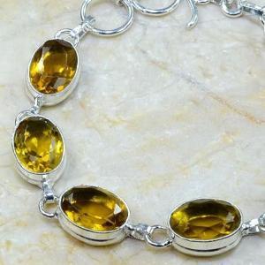 Ct 0023b bracelet citrine argent 925 bijoux achat vente