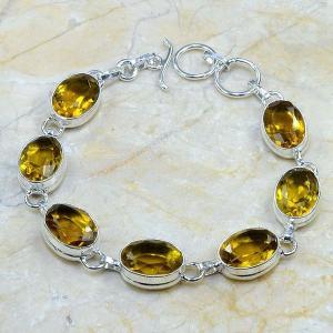 Ct 0023c bracelet citrine argent 925 bijoux achat vente