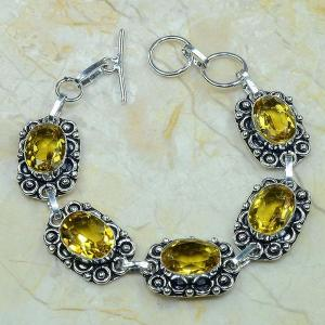 Ct 0046c bracelet citrine argent 925 bijoux achat vente