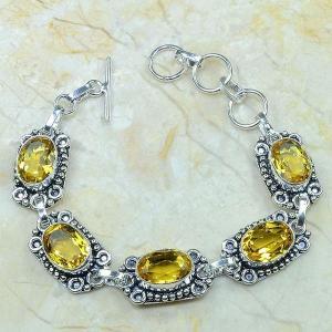 Ct 0051c bracelet citrine argent 925 bijoux achat vente