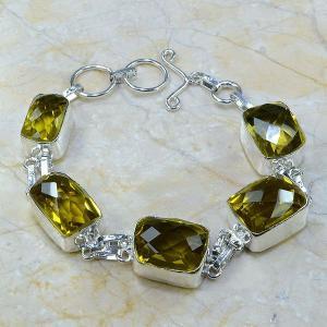 Ct 0052a bracelet citrine argent 925 bijoux achat vente