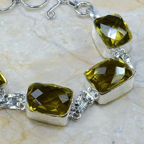 Ct 0052b bracelet citrine argent 925 bijoux achat vente