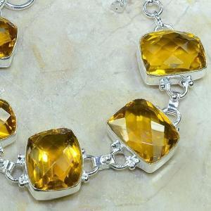 Ct 0053b bracelet citrine argent 925 bijoux achat vente