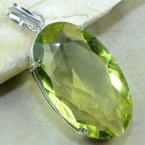 Ct 0055a pendentif pendant citrine argent 925 bijoux achat vente