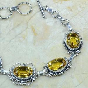 Ct 0057b bracelet citrine argent 925 bijoux achat vente