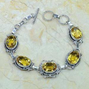 Ct 0057c bracelet citrine argent 925 bijoux achat vente