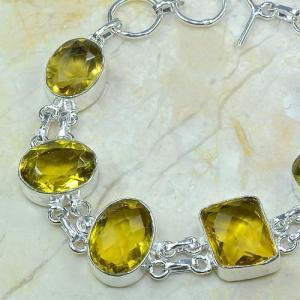Ct 0058b bracelet citrine argent 925 bijoux achat vente