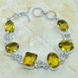 Ct 0058c bracelet citrine argent 925 bijoux achat vente