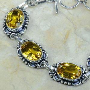 Ct 0063b bracelet citrine argent 925 bijoux achat vente