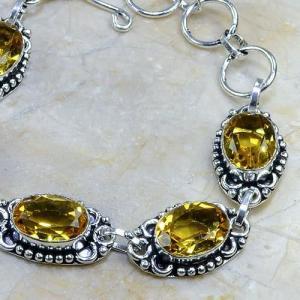 Ct 0064b bracelet citrine argent 925 bijoux achat vente