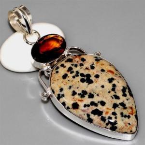 Ct 0084a pendentif pendant citrine madere argent 925 bijoux achat vente