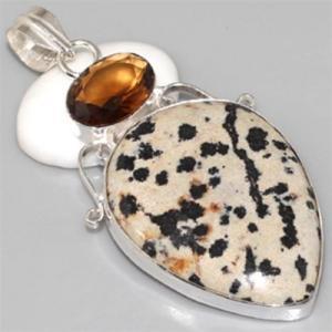 Ct 0084c pendentif pendant citrine madere argent 925 bijoux achat vente