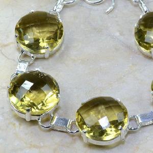 Ct 0110b bracelet citrine doree lemon argent 925 bijoux achat vente