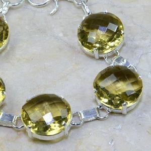 Ct 0110c bracelet citrine doree lemon argent 925 bijoux achat vente