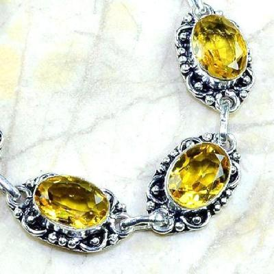 Ct 0193c bracelet citrine orange madere argent 925 bijoux achat vente 1