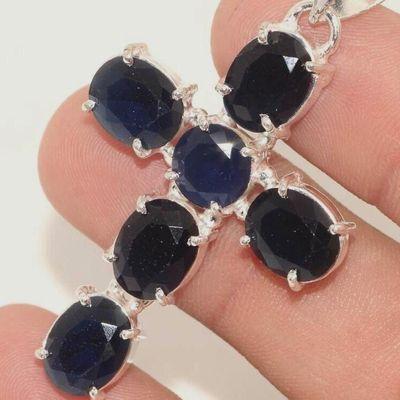Cx 3194c croix pendentif crucufix onyx noir 7gr 30x40mm gothique vempire bijoux achat vente 1