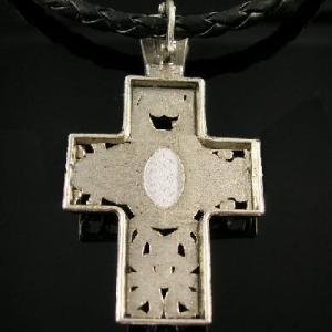 Cx 3204b pendentif croix crucufix strass bijou achat vente argent 925