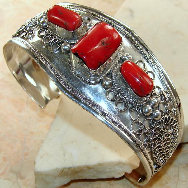 d727f789f90a1 Achat vente bijoux corail branche, rouge, rose, orange, taillée, facetté,  argent 925